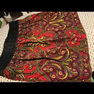Anthropologie Idra cord skirt